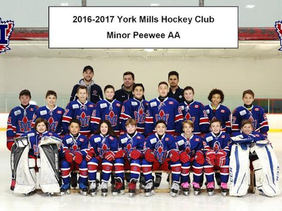 York Mills 2005 AA Hockey