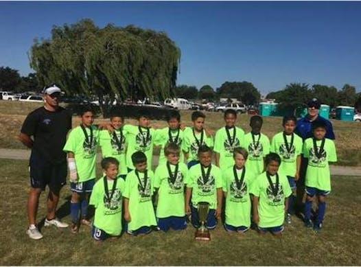 soccer fundraising - SSJ Academy 05B Blue Titans