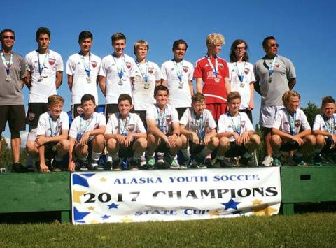 soccer fundraising - AYSC 03 Boys