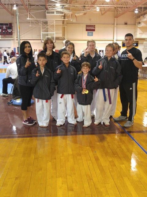 martial arts fundraising - The Comp Team!