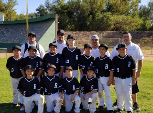 baseball fundraising - So Cal Beast Baseball Team 10u