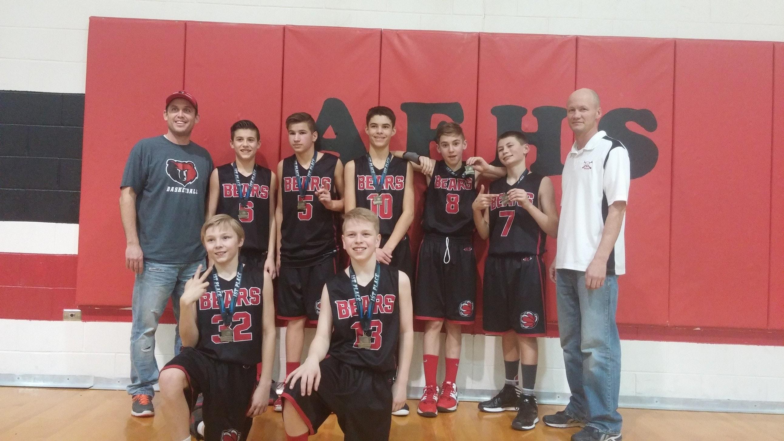 Bear River 8th grade basketball