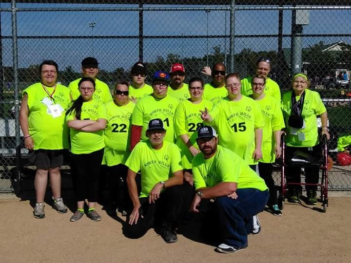 Special Olympics team North Hills