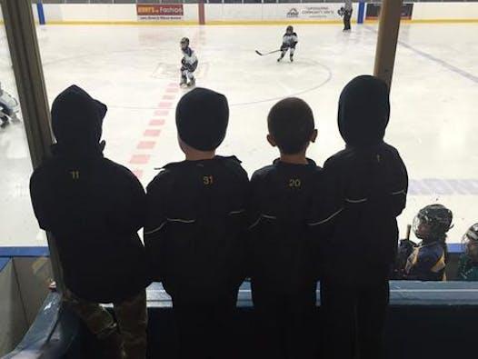 ice hockey fundraising - East York Bulldogs - GOLD