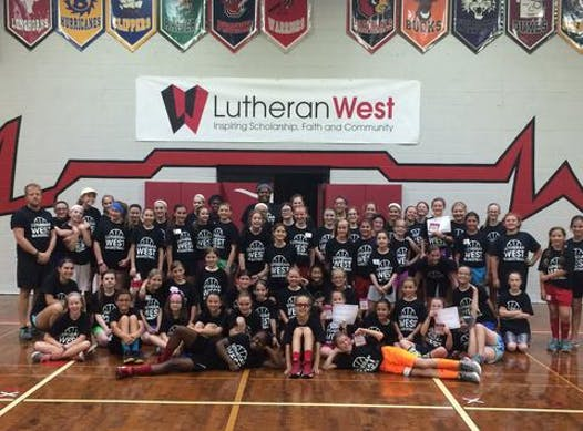 basketball fundraising - Lutheran West Women's Basketball