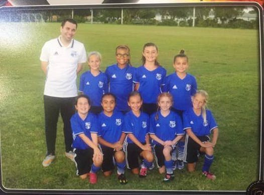 soccer fundraising - Cape Coral Cyclone Girls 2007