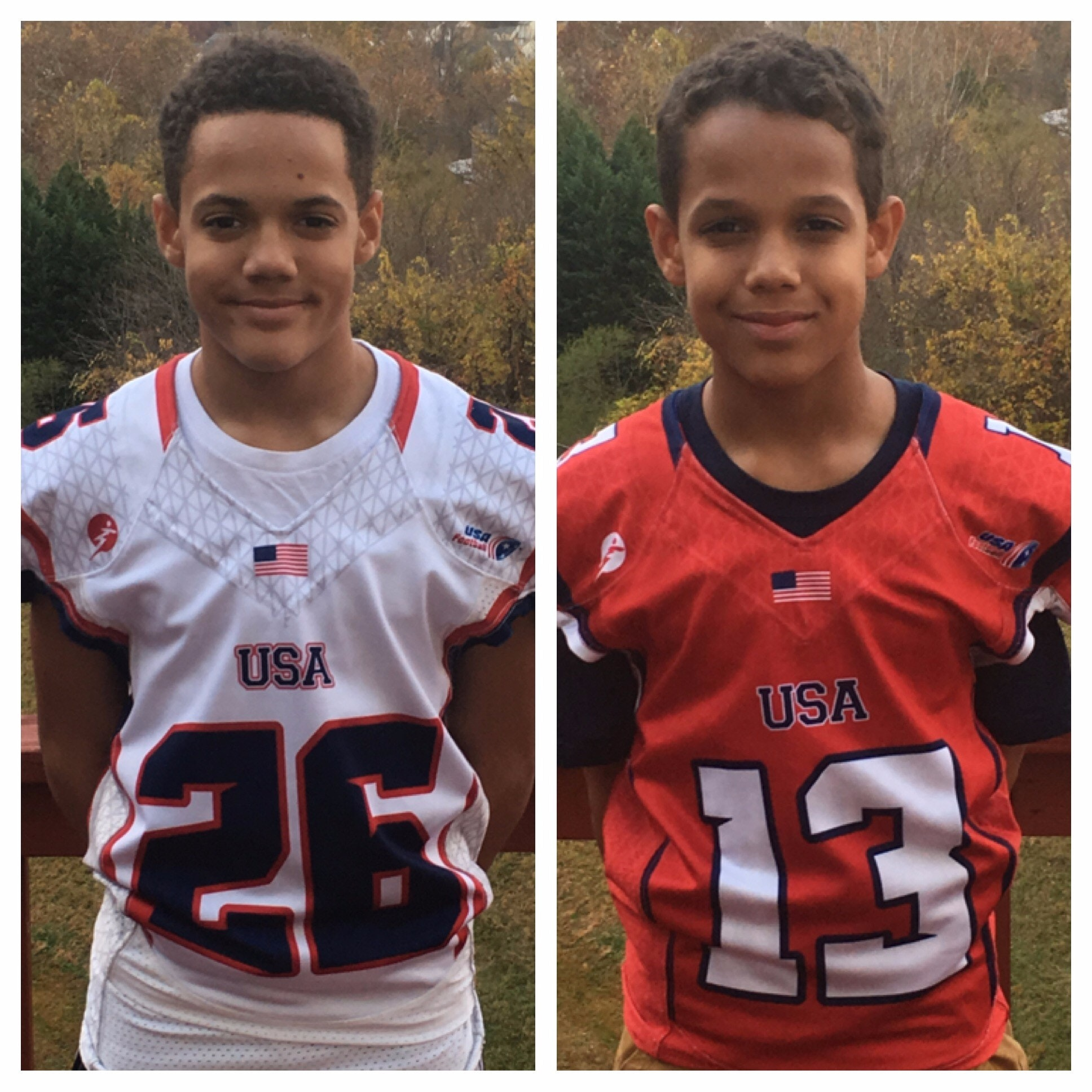Barnes Boys - Dream trip for USA Football International Bowl