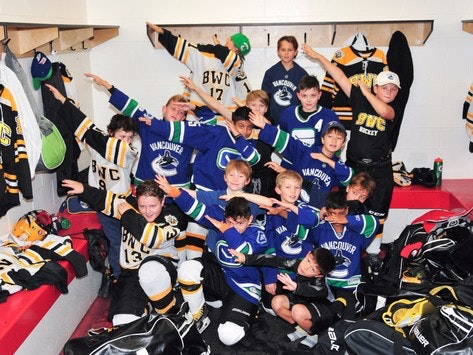 Burnaby Winter Club Atom A3 for BC Children's Hospital