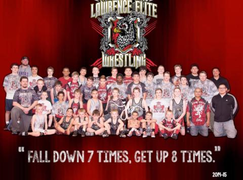 wrestling fundraising - Lawrence Elite Wrestling