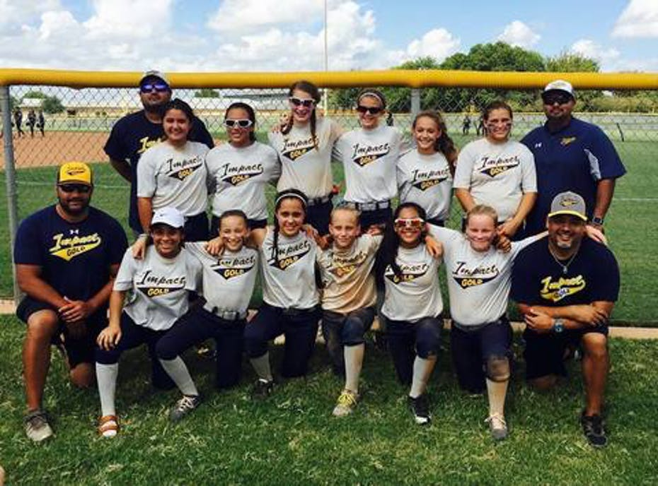 12u Impact Gold Herrera National Softball Team