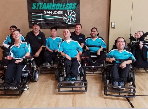 San Jose Steamrollers Holiday Fundraiser