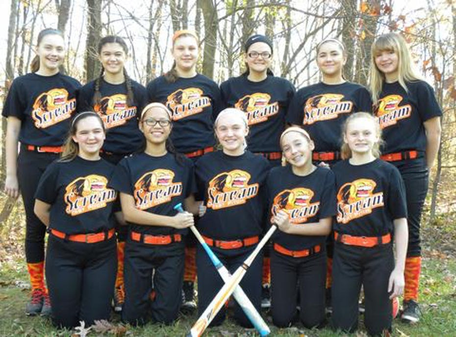 Scream Fastpitch 14u white