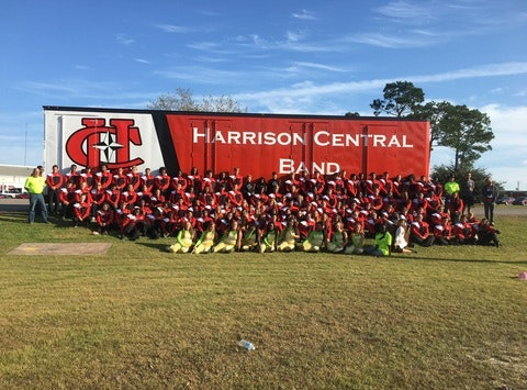 Harrison Central Marching Band