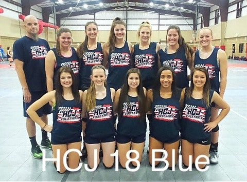 volleyball fundraising - HCJ 18's