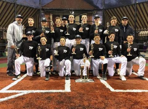 baseball fundraising - TEAM FRANCISCO Notorious 9 13U