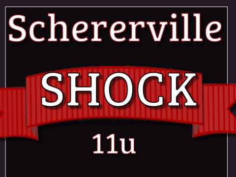Schererville Shock 11u Baseball 2017-2018