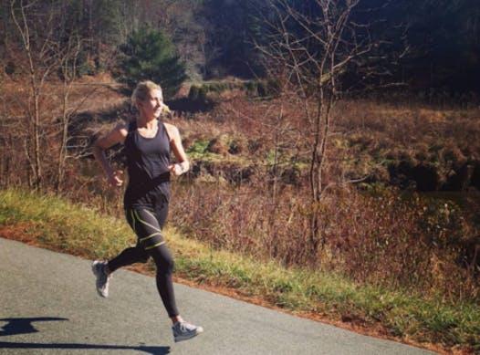 running fundraising - Nicole DiMercurio