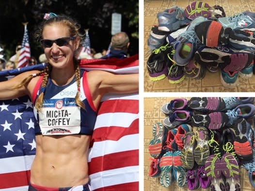 track and field fundraising - Maria Michta-Coffey