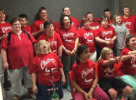 bowling fundraising - Challengers A League of Their Own