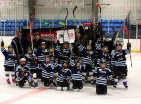 ice hockey fundraising - Sangudo Cyclones