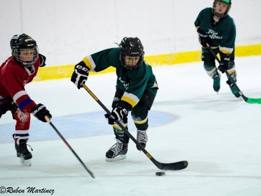 ice hockey fundraising - Glenn Piercy