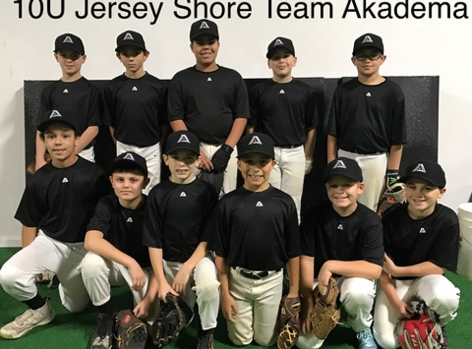 10u Jersey Shore Team Akadema Baseball