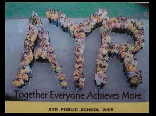 elementary school fundraising - Ayr Public School