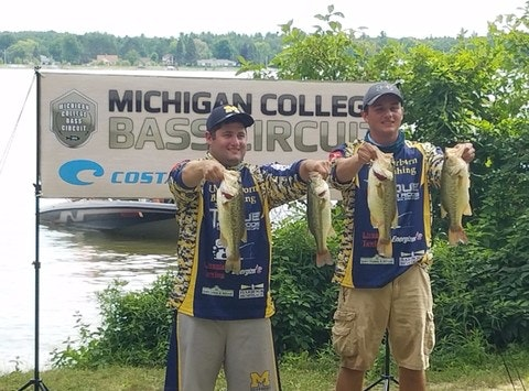 fishing fundraising - University of Michigan Dearborn Bass Fishing Team