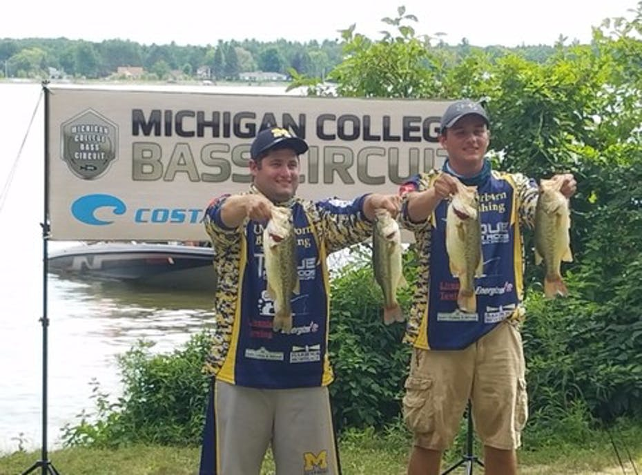 Activity university of michigan dearborn bass fishing for Michigan bass fishing