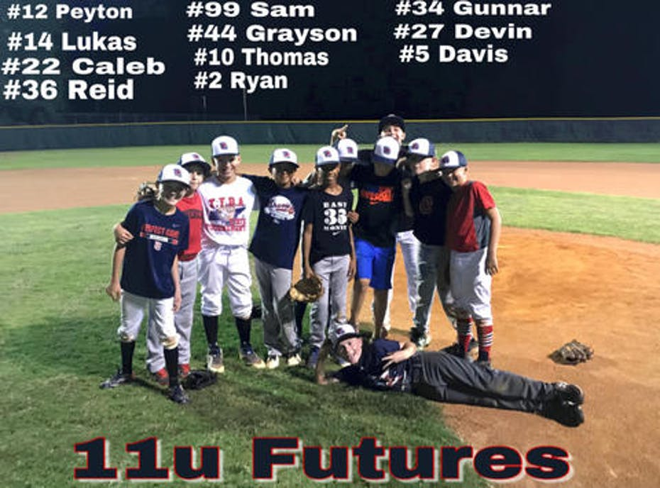 Tennessee futures baseball