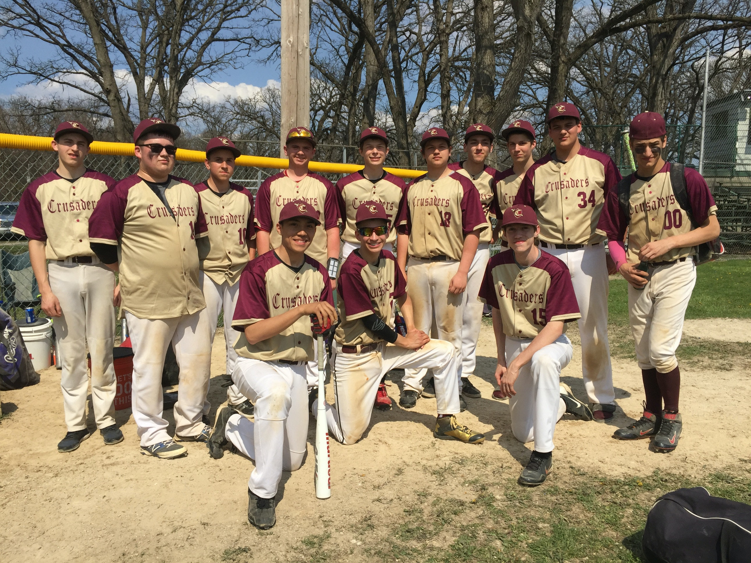 Crossroads Crusaders Homeschool High School Baseball team