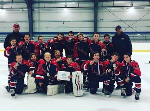 ice hockey fundraising - NEJF PeeWee Elite