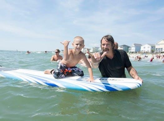 surfing fundraising - Surf Dreams Foundation
