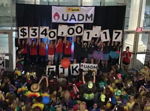 dance-a-thon fundraising - The University of Alabama Dance Marathon