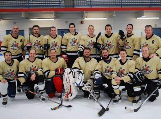 ice hockey fundraising - Shut yer 5-hole