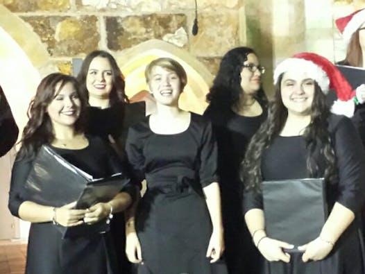 choir fundraising - Palmetto Ridge All-State choir students