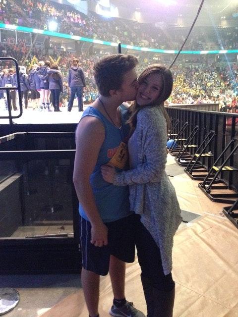 Samantha Bentrim and Ryan Wagner benefitting THON