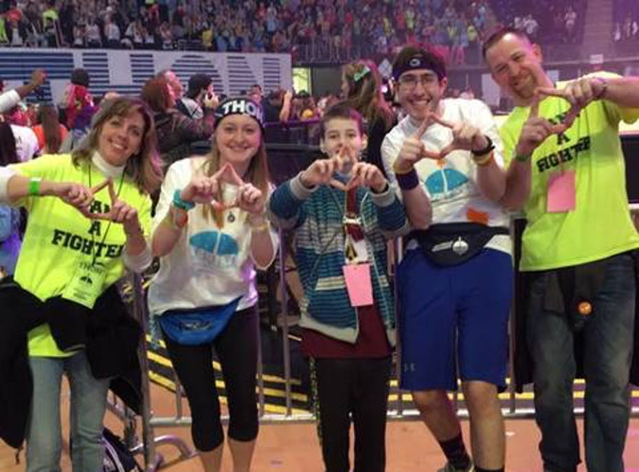 The Forensic Science Club Benefiting THON
