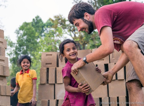 Help Rebuild Homes in Nepal with Conscious Impact!