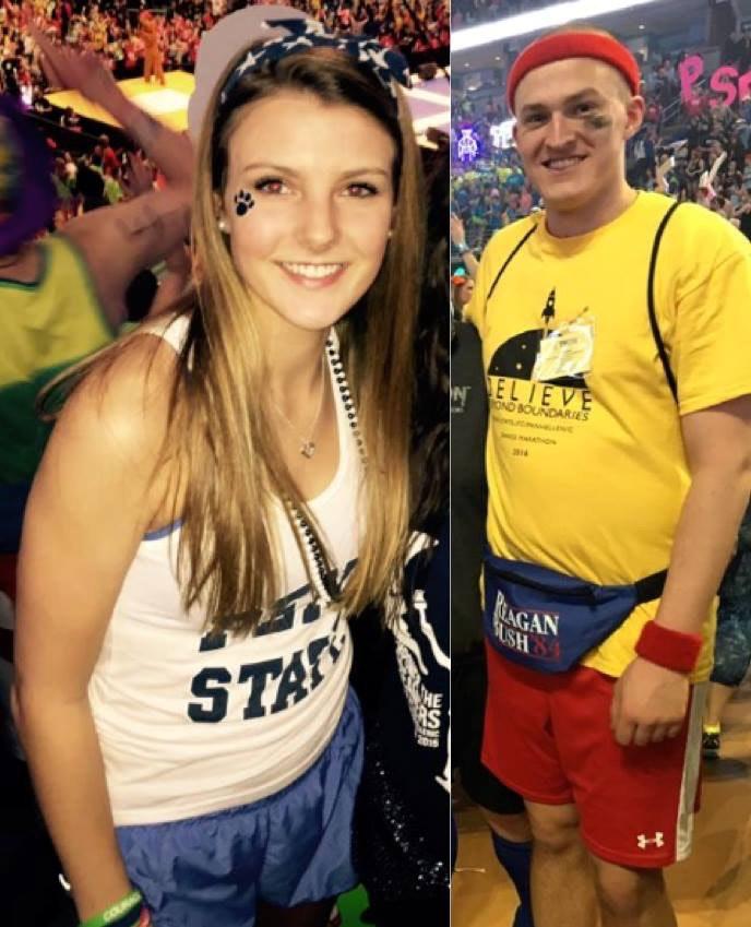 Jacob Jayne and Madison Burhans Benefitting THON