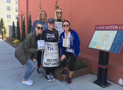 Lindsay King and Kristin Mays Benefitting THON