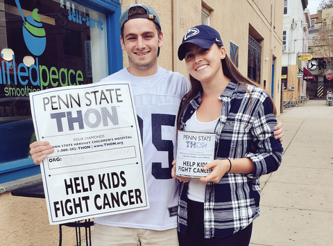 Gabrielle and Alex Beam Benefitting THON