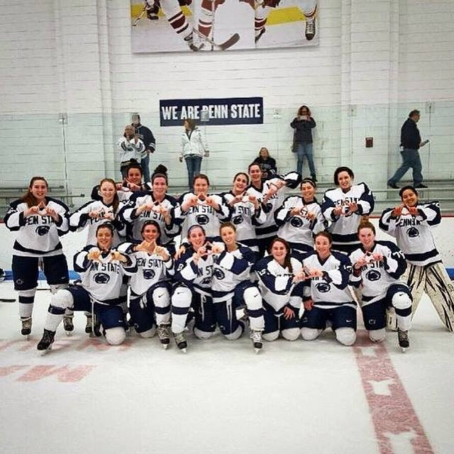 Womens Ice Hockey benefiting THON