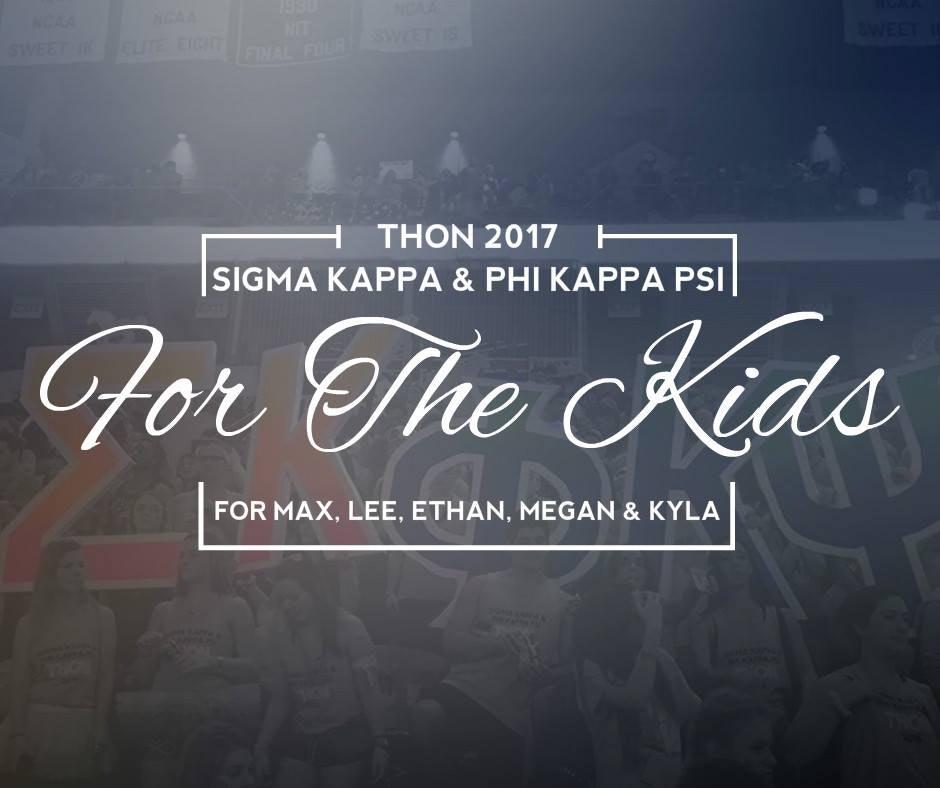 Sigma Kappa and Phi Kappa Psi Benefitting THON