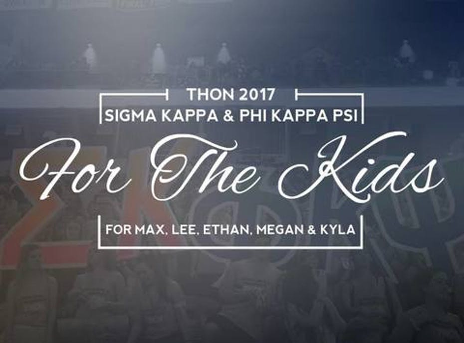 Sigma Kappa and Phi Kappa Psi Benefitting THON