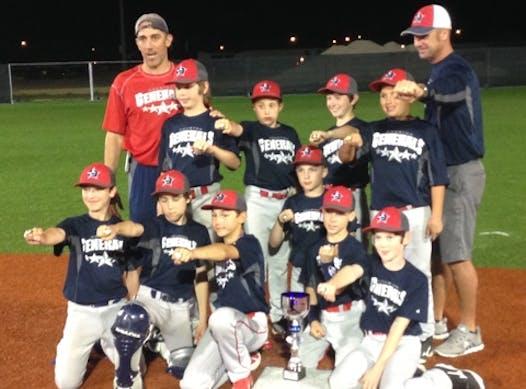 baseball fundraising - Generals