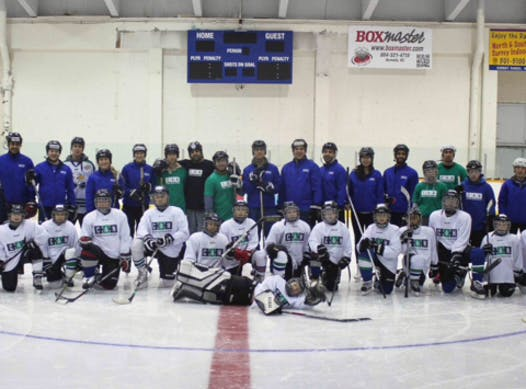 ice hockey fundraising - Surrey Stingrays Hockey Team