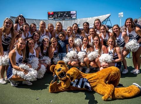 Penn State Cheerleading Team