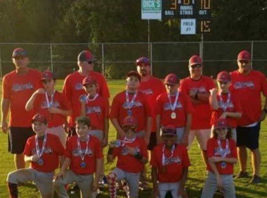 12u Hobgood Braves - Red