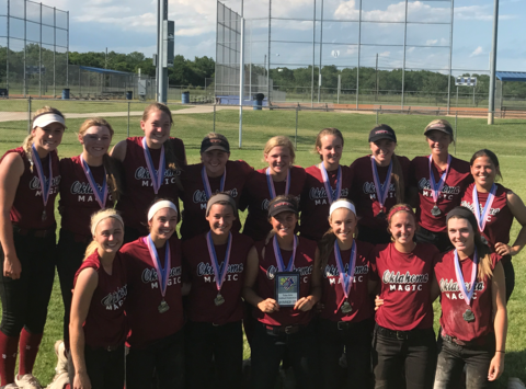softball fundraising - Oklahoma Magic